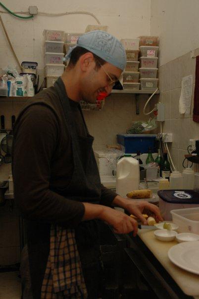 שלוש שנים עבדתי כטבח. צילום: אמיתי איצקוביץ'
