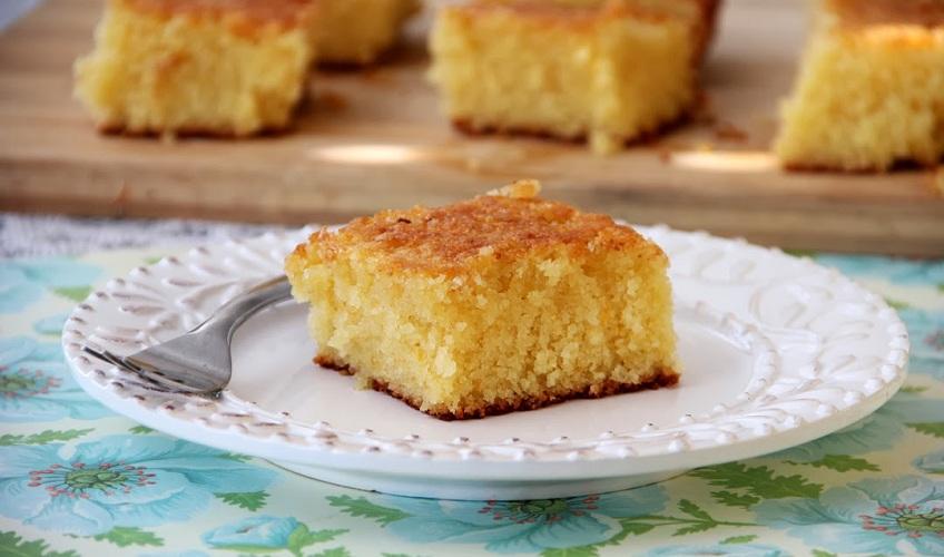 עוגת סולת ותפוזים איילת הירשמן