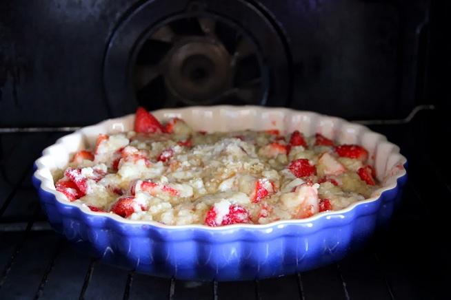 את זה (לפתוח את התנור במהלך האפייה) לא לעשות! :] צילום: קרן ביטון כהן
