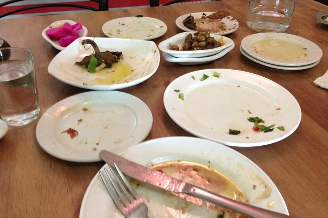 עתידות: כך יראה השולחן שלכם בסוף הארוחה