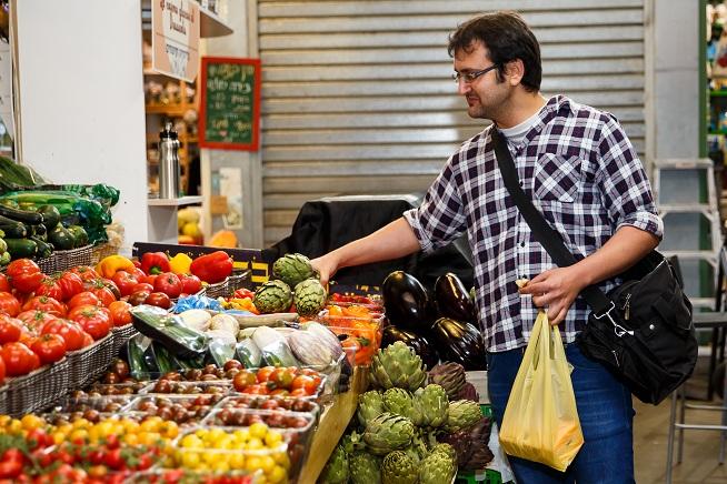 באו לפני שהשוק נפתח :] צילום: מתן כץ