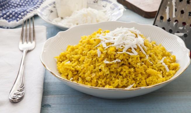 קיצ'רי תבשיל אורז ועדשים צילום: אסף אמברם