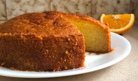 עוגת תפוזים לפסח