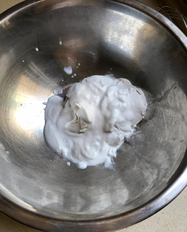 קצפת קרם קוקוס