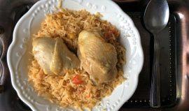 פלאו בג'יג' אורז עם עוף עיראקי