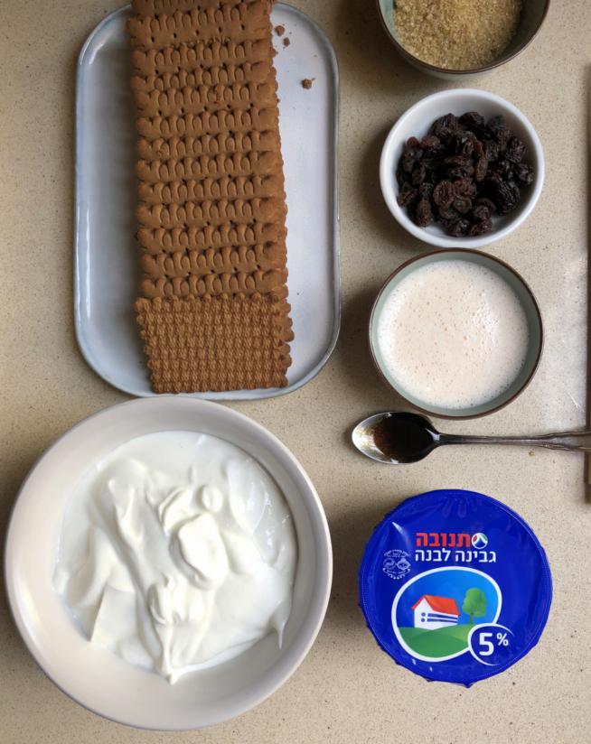 עוגת ביסקוויטים הכי קלה בעולם