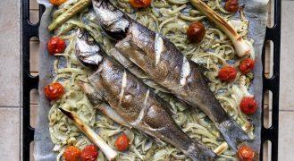 המדריך: דג בתנור אפוי שלם