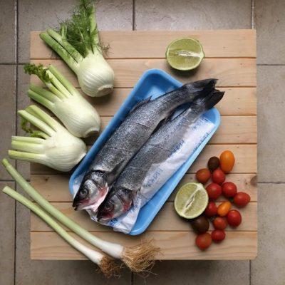 דג בתנור