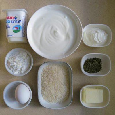 מרק אורז ויוגורט