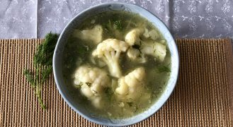 מרק כרובית של סבתא חנה