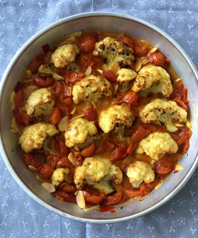 כרובית ברוטב עגבניות