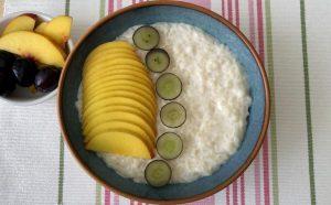 פודינג אורז בחלב