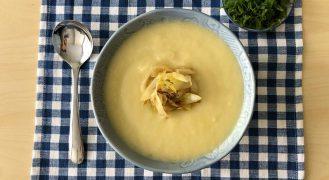 מתכון מרק תפוחי אדמה וכרישה