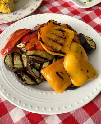 ירקות על האש