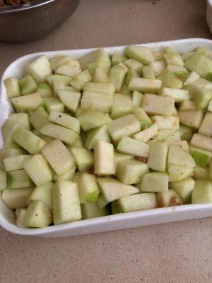 קראמבל תפוחים