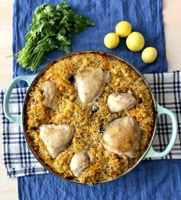 אורז עם עוף בתנור