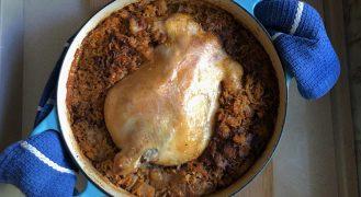 מתכון טבית עוף ממולא של סבתא חנה